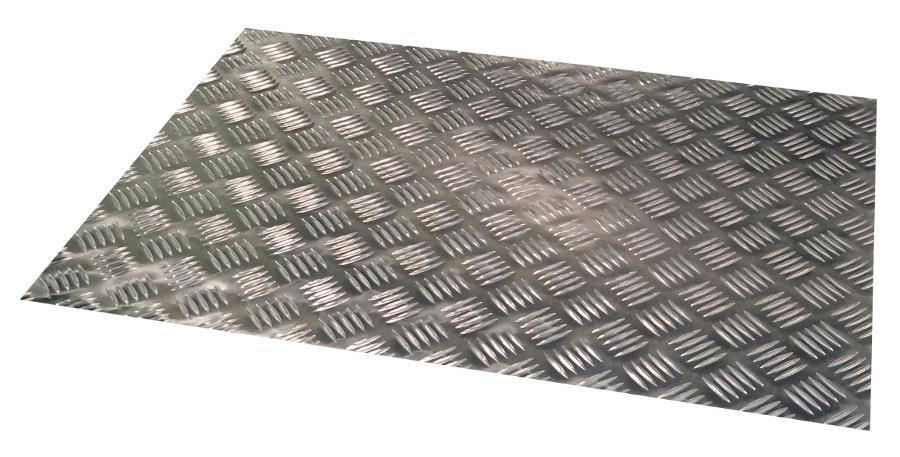 Alumiini Turkkilevy 2 0 Mm Five Bar Kuvio Al Men Oy
